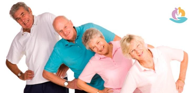 Гимнастика в спокойном темпе для пожилых людей: комплексы упражнений
