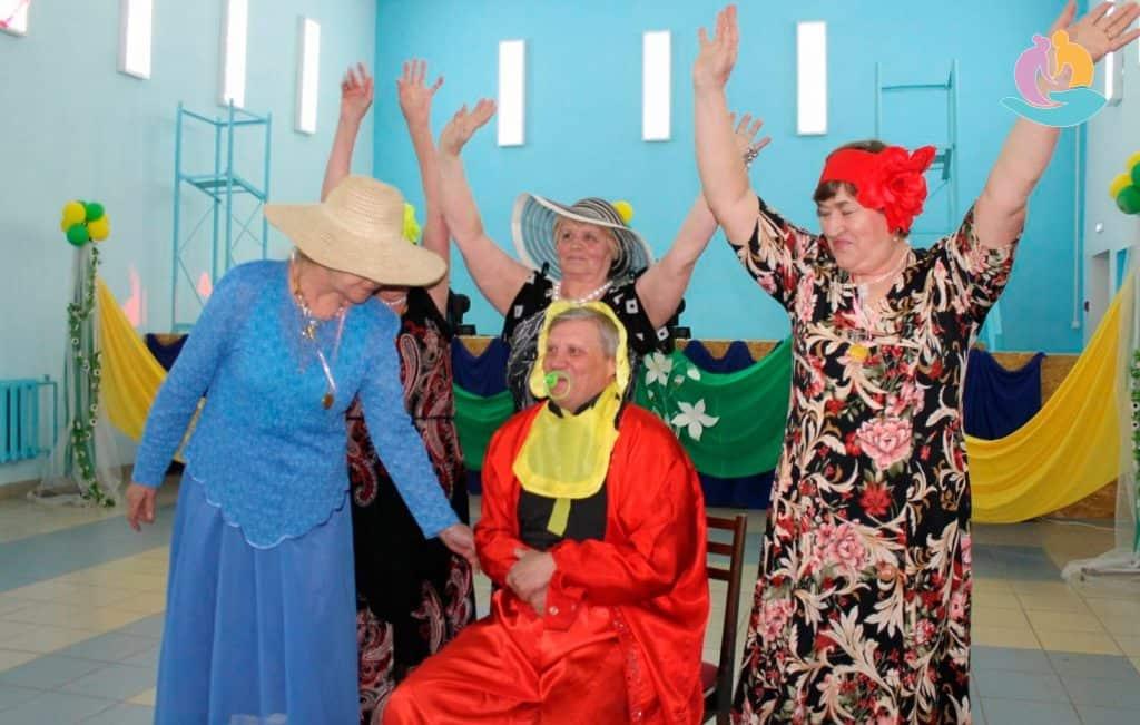 Развлечения для пожилых дома винница дом престарелых