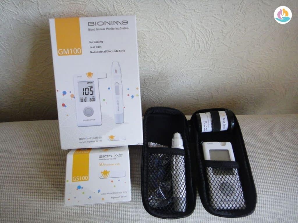 Глюкометр Бионайм для пожилых