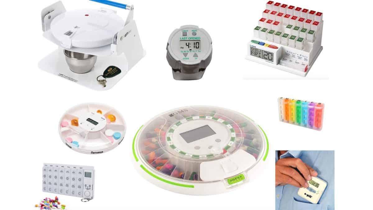 Лучшие автоматические таблетницы (топ-8) на 1, 7 и 31 день
