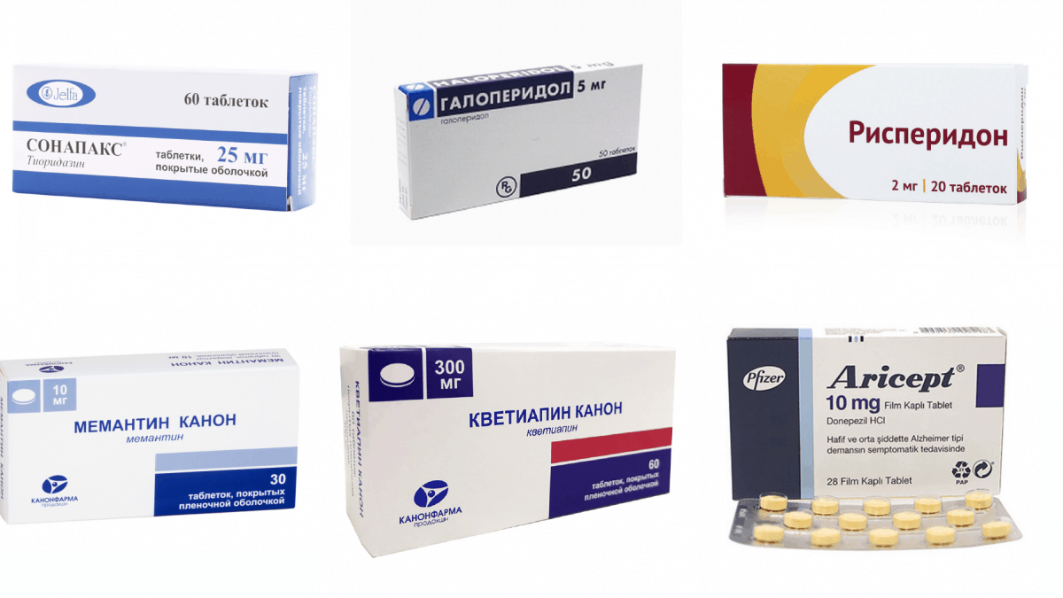 Фармакологическая коррекция поведенческих проявлений деменции. Есть ли лекарства для лечения деменции?
